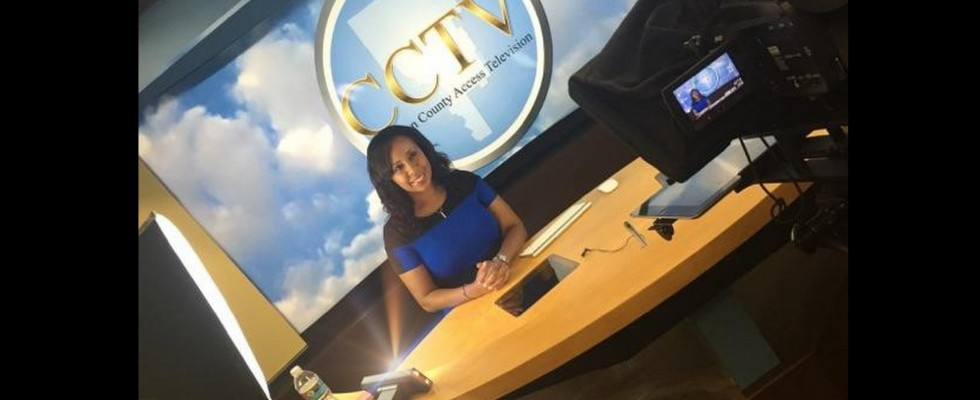 GlenNeta Griffin, Host of Inside Look on CCTV