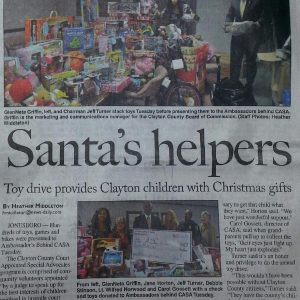 Media Cover- Clayton News Daily